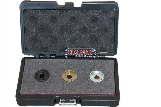 К-т ключове за монтаж и демонтаж на клапана на разпределителните валове на VAG AUDI,SEAT, SKODA,VW TFSI & TSI за бензинови двигатели  - ZT-04A2201D - SMANN TOOLS
