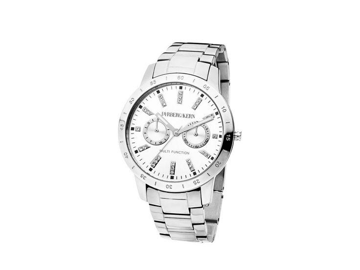 Solesta Klassisk herrelignende ur med Swarovski elements og visning af dag og dato.   Dyrberg/Kern 1.599 kr.