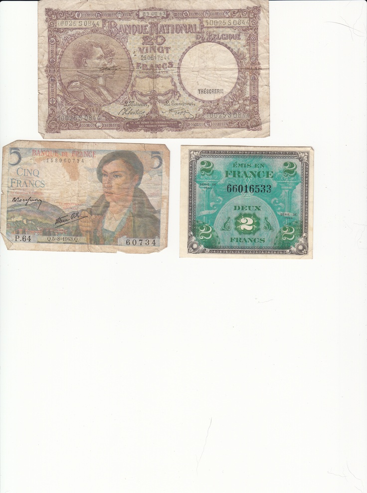 European currency from 1945.Pavé Money, Money Money