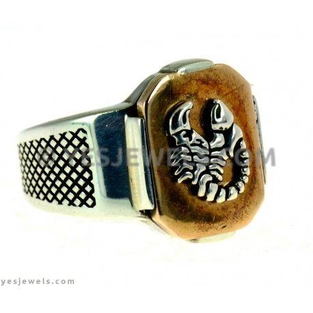 #silver #ring #scorpion  https://www.yesjewels.com/en/rings/531-erkek-yuzuk.html