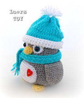 200 схем амигуруми на русском: Мистер Пингвин