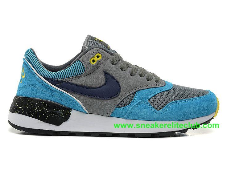 Nike Air Odyssey Chaussure De Course Pas Cher Pour Homme Gris Bleu Noir 652989-ID8-1603171985 - Chaussure Nike BasketBall Magasin Pas Cher En Ligne!
