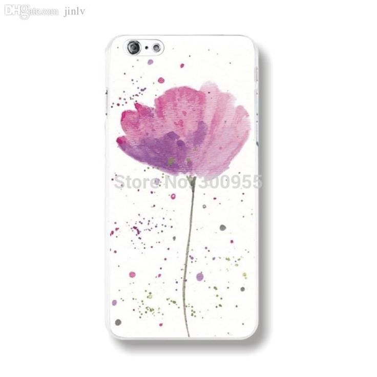 Wholesale Phone Case For Iphone 6 4.7 Pretty Flower Printed Phone Case Cover Skins Whd1122 1 20 Silicone Cell Phone Cases Ballistic Cell Phone Cases From Robart, $18.43| Dhgate.Com