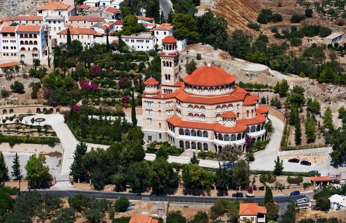 Aegina from the sky