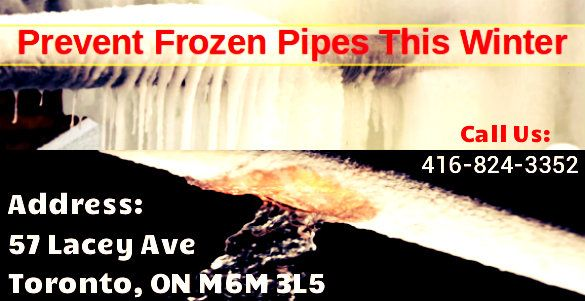 Santos Water provides frozen repair, preventing water pipes, fixing and thawing services in Toronto. If you have an emergency of frozen pipe repair? Contact us 416-824-3352 Santos water plumber. 24/7 emergency plumber services are available. For more information, visit our website: http://www.santoswater.com/