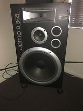 Jamo D365 Stereo Speakers RARE 15 INCH Floor Standing Hifi Audiophile Vintage