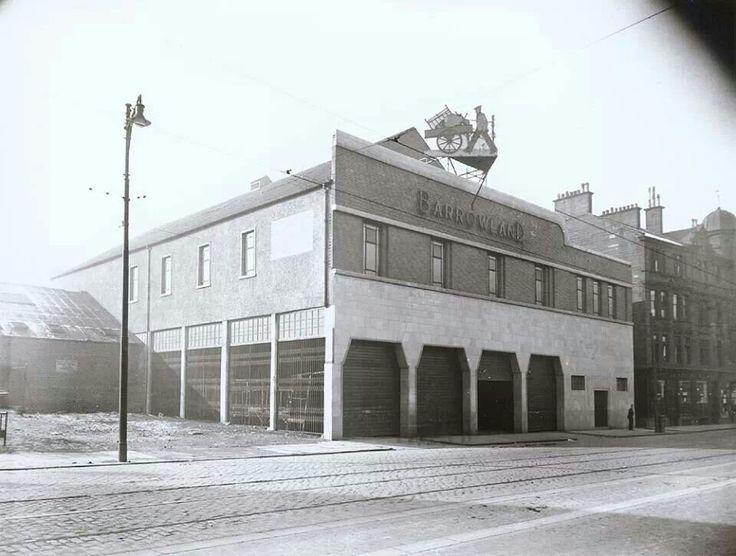 The original Barrowland, 1935
