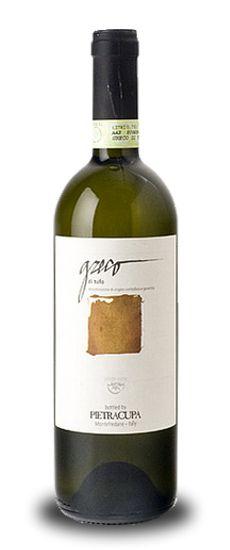 Greco di Tufo Pietracupa 2012 - Great wine! #wine #Italy