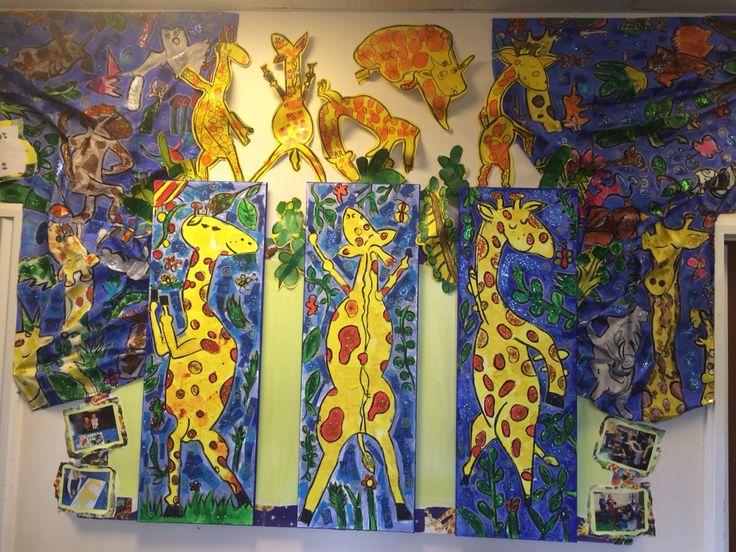 Giraffes can't dance ks1 display Giraffes cant dance
