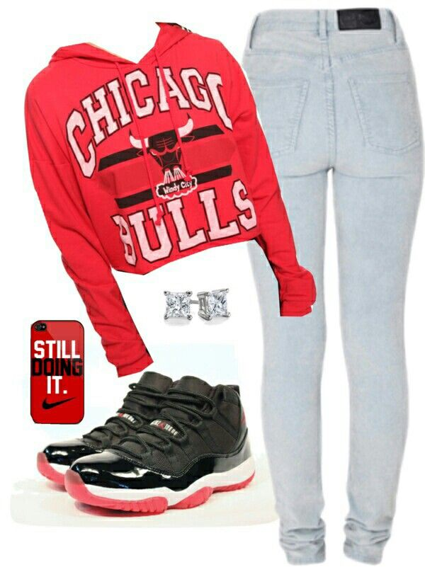 Chicago bulls ♡ need this outfit<3