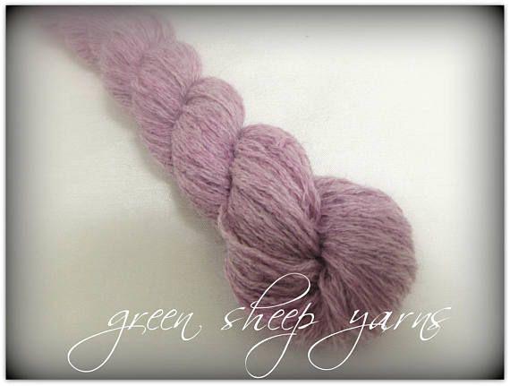 Spring Blooms  Pink/ Hand painted yarn/ Repurposed yarn
