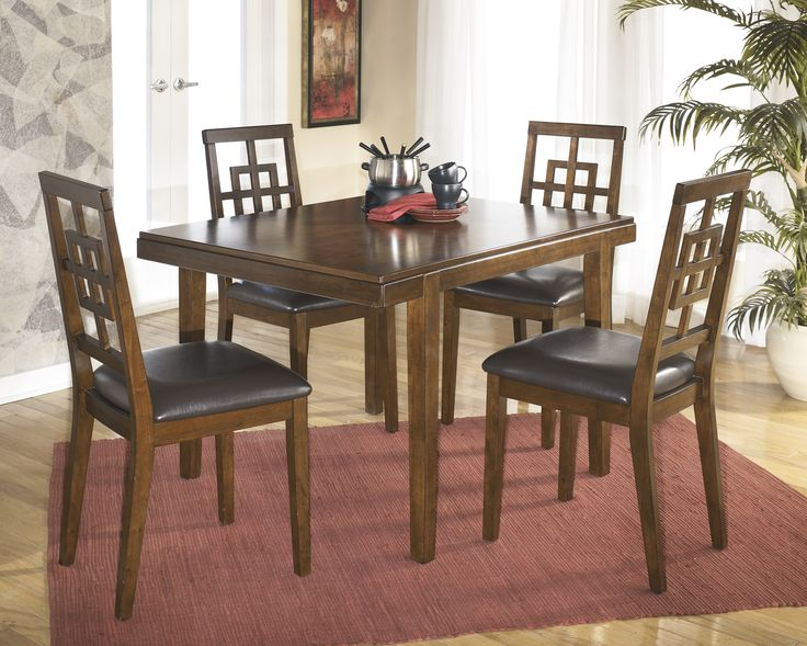 Get Your Cimeran Rectangular Table 4 Side Chairs At Affordable Rent To Own Abbeville LA Furniture Store