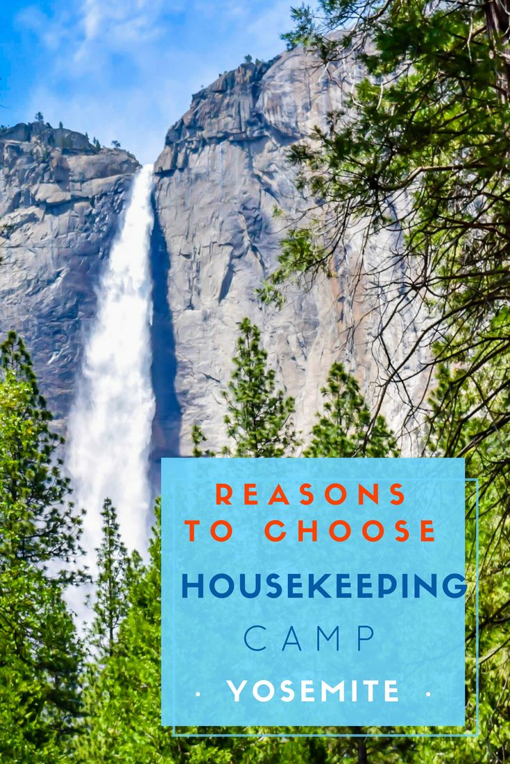 Housekeeping Camp Yosemite is an ideal place to take your family when staying in Yosemite National Park. You can wake up to the sound of the rushing water of the Merced River, and the cheerful chirping of the birds. The best thing with camping at Housekeeping is that whilst you are camping outdoors, you avoid the hassle of setting up a tent! via @NiceRightNow