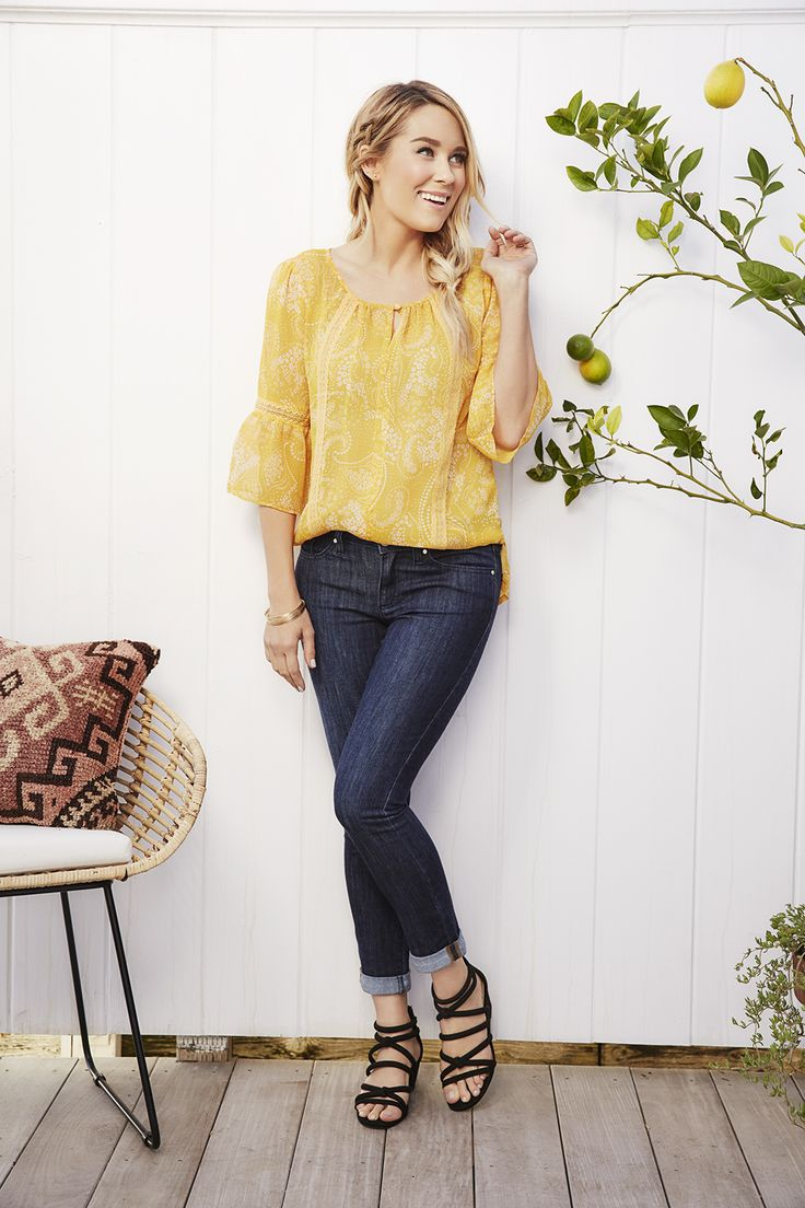 Lauren Conrad wearing an outfit from the April LC Lauren Conrad for Kohl's Collection   Available on Kohls.com