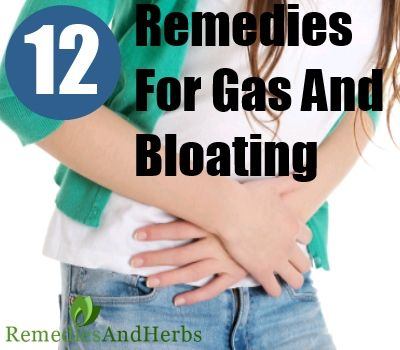 DIY Home Remedies, Kitchen Remedies and Herbs - http://www.remediesandherbs.com/12-natural-remedies-for-gas-and-bloating/