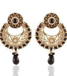 Buy Gracefull Gold Plated Jewellery Earrings For Women danglers-drop online