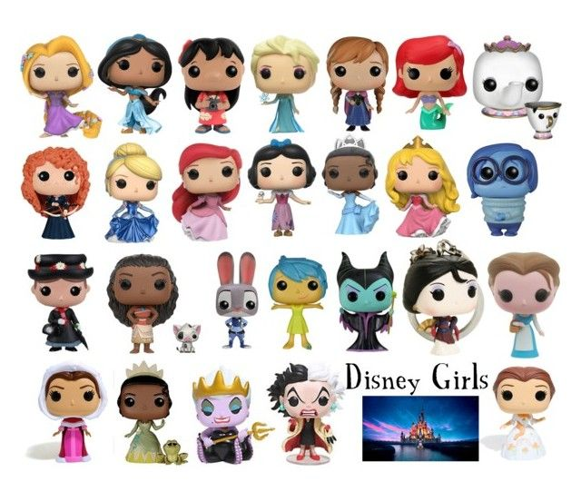"""Disney Pop Vinyl"" by sugarsop on Polyvore featuring interior, interiors, interior design, home, home decor, interior decorating, Disney and Funko"