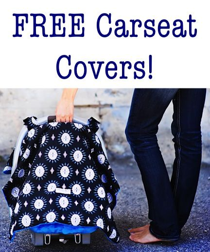 FREE Carseat Cover! {just pay s/h!} ~ these make great gifts, too!