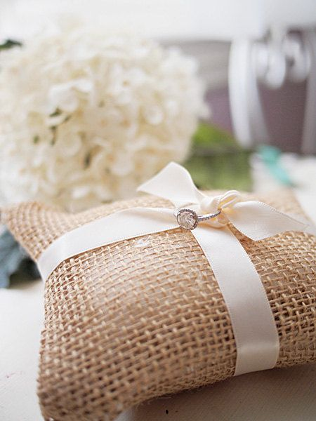 burlap wedding mini ring pillow by shelbyleighx on Etsy $9.99 & 186 best Wedding Pillows images on Pinterest   Ring pillows Ring ... pillowsntoast.com