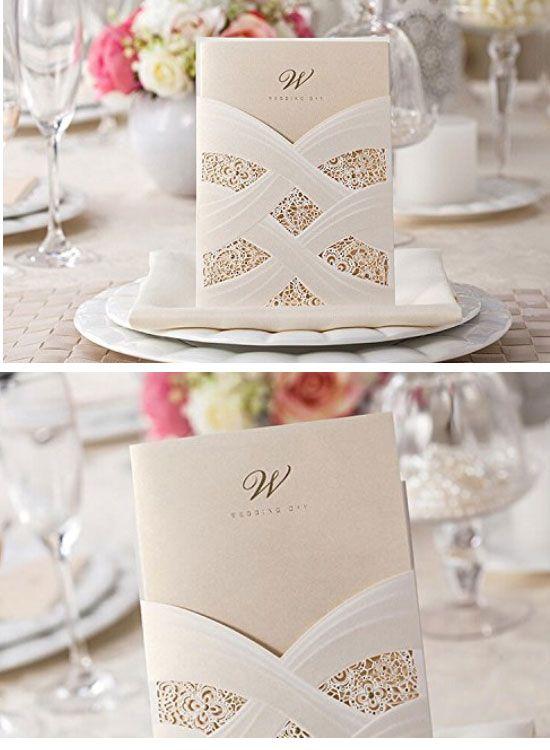 25+ best ideas about budget wedding invitations on pinterest | diy, Wedding invitations