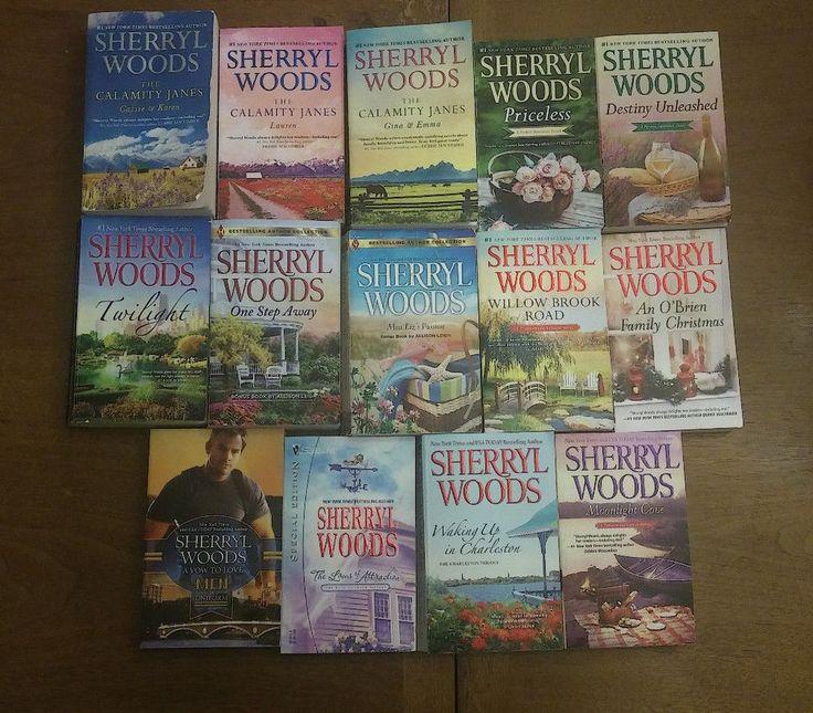 Sherryl Woods Books 14 Lot Pb Romance Novels