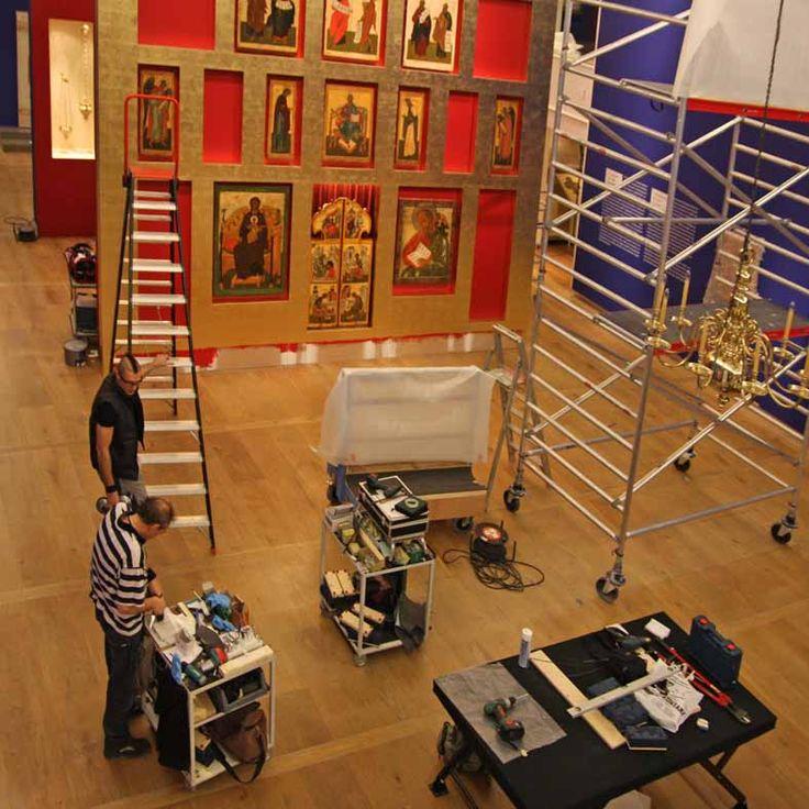 "Museuminrichting: ""Glans en Glorie"" - Hermitage Amsterdam"