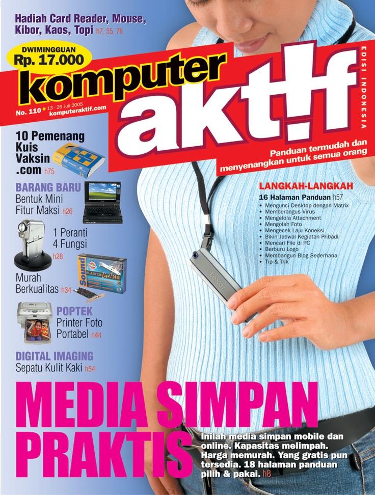 Ed.110 Media Simpan Praktis