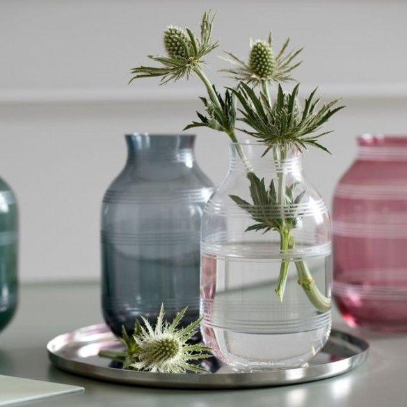 Omaggio Glass Vase Clear Mini / Omaggio / New