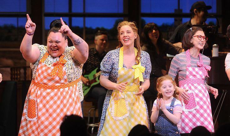 Sara Bareilles Celebrates 'Waitress', Broadway's First Musical ...