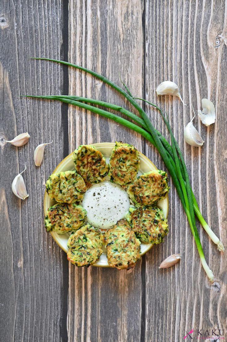 Aromatyczne placki z cukinii KAKU fashion cook / zucchini pies recipe