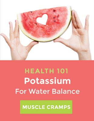 Health 101 Potassium for water balance
