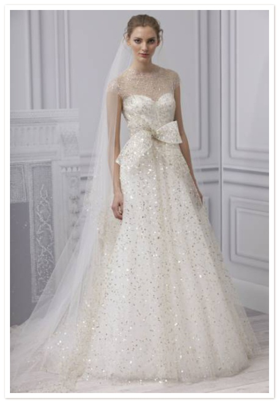 Monique Lhuillier Spring 2013 Bridal Collection