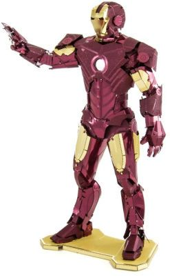 """Metal Earth Iron Man - I got this... Only trick is, I saw what it's like to put together a 'normal' Metal Earth model... and this one is an """"Advanced Model"""" ffs! XD lol"""