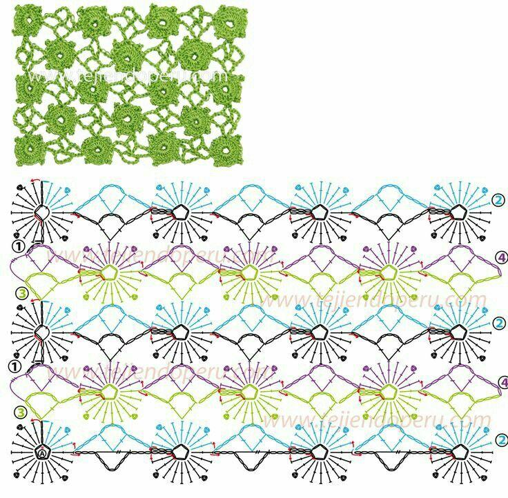 4262 best Crochet Stitch Patterns images on Pinterest | Crochet ...