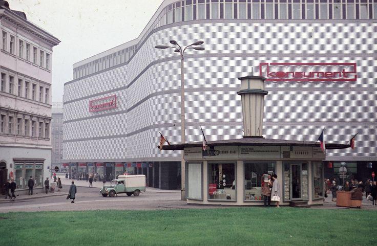 Leipzig, 1968, East of Germany