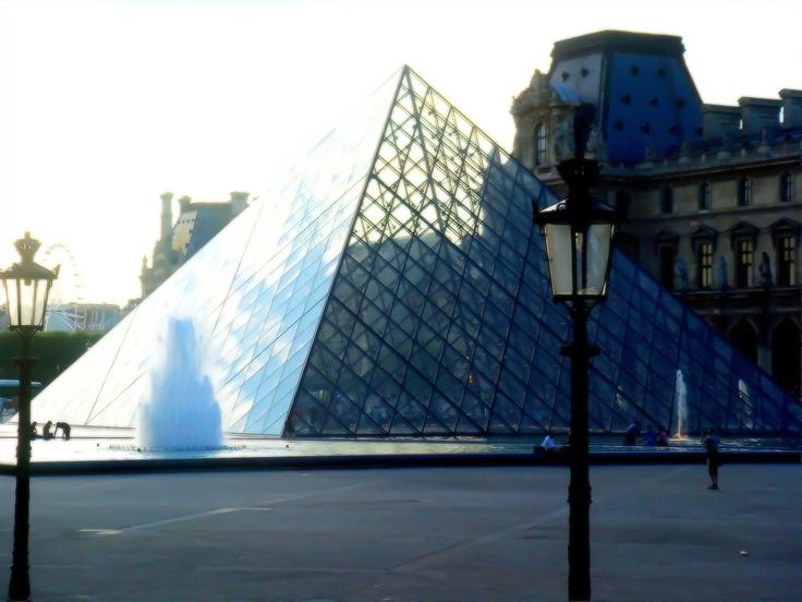 Louvre Pyramid, Paris, France