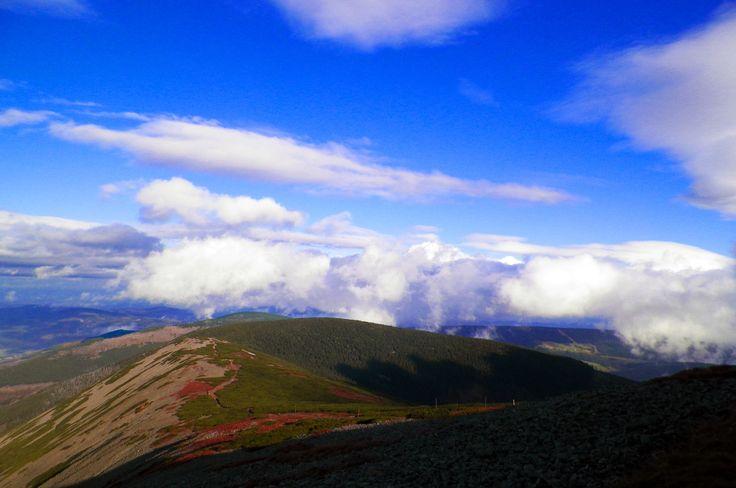 Droga na Śnieżkę/ The landscape of the Western Sudetes