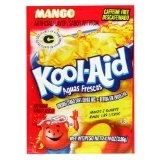 Kool-Aid Aguas Frescas Mango Unsweetened Soft Drink Mix, 0.14-Ounce Packets (Pack of 96) (Grocery)By Kool-Aid