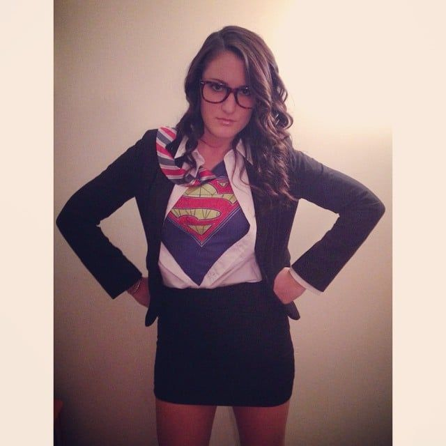 Pin for Later: 24 Costume Ideas For Girls With Glasses Clark Kent