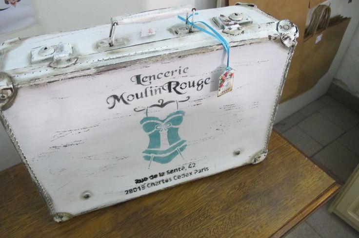 Antigua Valija De Carton Reciclada A Nuevo. Varios Tamaños* - $ 450,00 en MercadoLibre