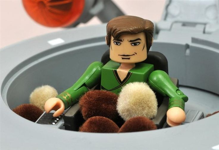 I may need one of these for myself. SDCC 2013 Exclusive - Star Trek Minimates - Starship Enterprise - The Trouble with Tribbles - Star Trek: Figures & Replicas Minimates