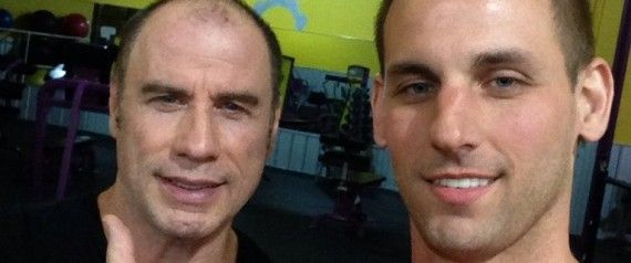 John Travolta Has A LOT Less Hair Than Usual In This Fan Selfie Taken In the Gym (PIC)