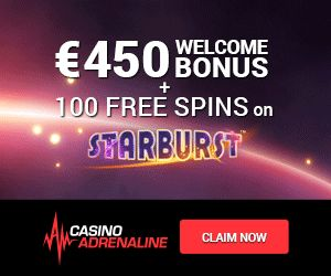 Casino Adrenaline (NetEnt) NEW Players 150% Match + 50 FREE Spins. No Usa. Min Dep: $20. Slots/Tables/Live + More. Info Here: http://casinondcentral.myfreeforum.org/about443.html