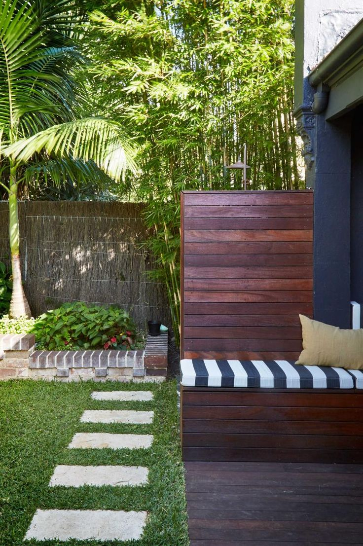 Front view luxury tropical house design 27 east sussex lane by ong - Deck Outdoors The Design Hunter Danella Chalmers