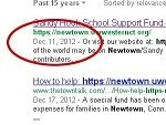 SANDY HOOK FUNDRAISING RELIEF PAGE CREATED 3 DAYS BEFORE SHOOTING, GOOGLE SEARCH RESULTS CONFIRM. See for yourself. Truth is definitely strange than fiction.