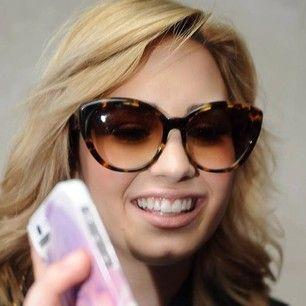Demi Lovato in dita eyewear #demilovato #ditaeyewear