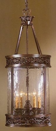 From 4houselighting.com Cool Medieval light fixture.