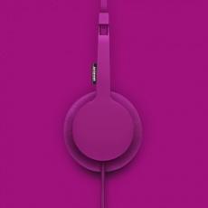 Urbanears Tanto Headphones in Raspberry