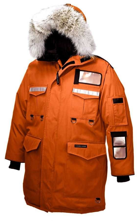 516db0da285 Mens Canada Goose Resolute Parka Sunset Orange | Men Canada Goose in ...
