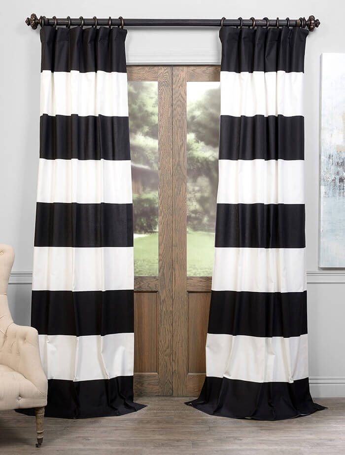 1000 Ideas About Horizontal Striped Curtains On Pinterest Stripe Curtains Curtains And Tan